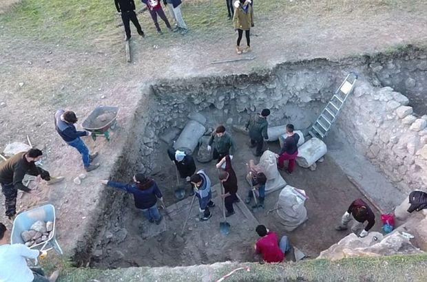 Kazı çalışmalarında bin 500 yıllık kilise ortaya çıkarıldı