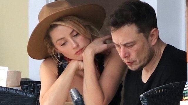 Elon Musk-Amber Heard çifti yine ayrıldı! - Magazin haberleri