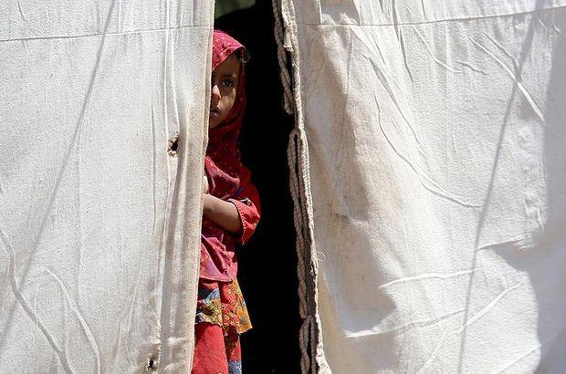 Yemen'de savaş binlerce insanı barınaksız bıraktı