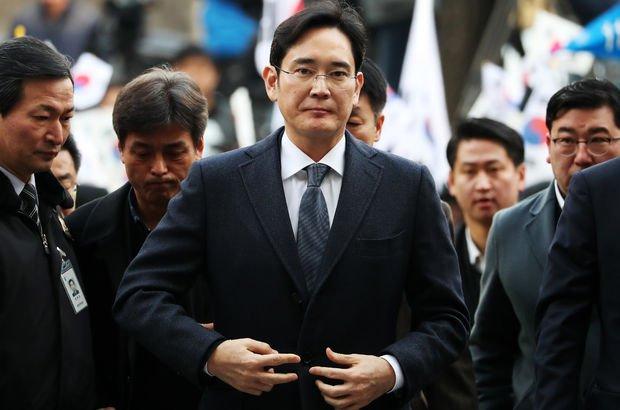 Samsung'un varisi hapisten çıktı
