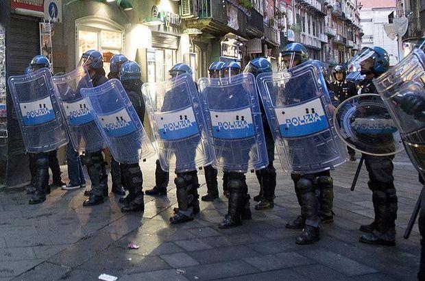 Terör örgütü yandaşlarına Roma'da yürüyüş izni verilmedi