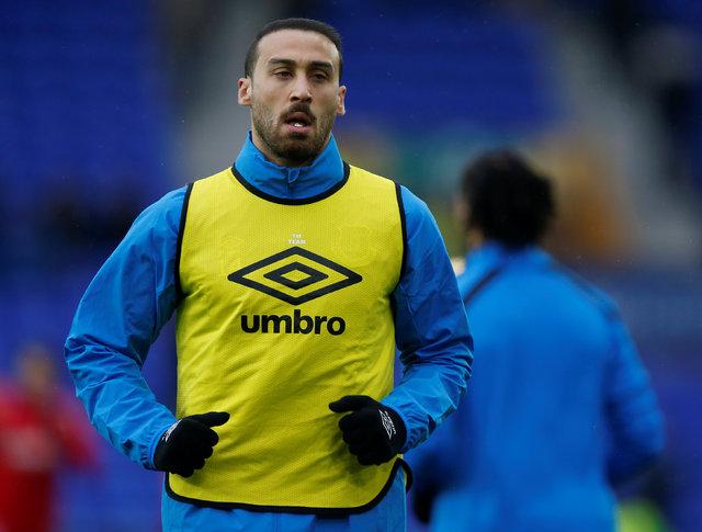 Cenk Tosun, Everton'a transferi sonrasında ilk kez HABERTÜRK'e konuştu