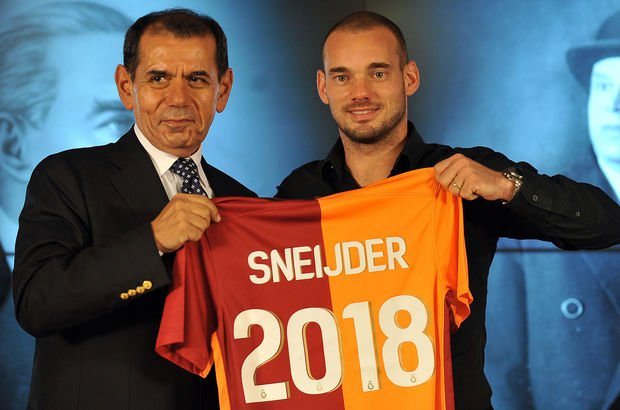Galatasaray'da Sneijder skandalı!