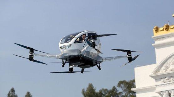 Bu drone insan taşıyabiliyor