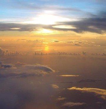 Virüslerin büyük çoğunluğunun atmosferde toplandıktan sonra yeryüzüne düştüğü saptandı