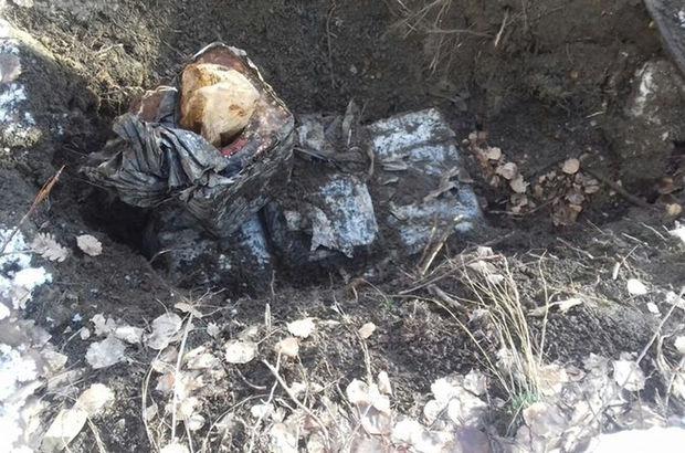 Bitlis'te terör örgütü PKK'ya operasyon: El yapımı patlayıcı ele geçirildi