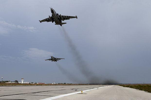 Suriye İdlib Rusya hava sahası