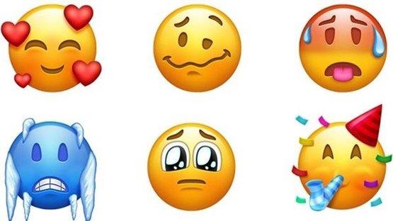 157 yeni emoji bu yıl telefonunuzda olacak! İşte emojiler...