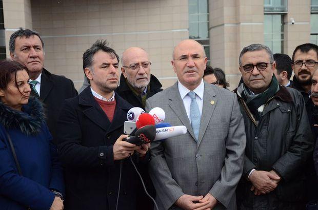 CHP'li Tanal'dan Cumhurbaşkanı Erdoğan, Bakan Çavuşoğlu ve Davutoğlu hakkında suç duyurusu