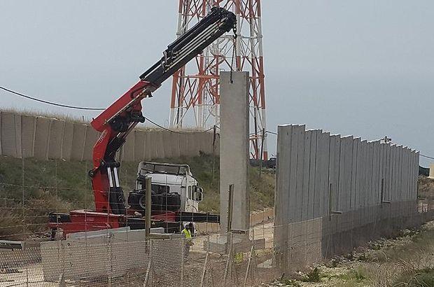 İsrail, Lübnan sınırında duvar inşa ediyor