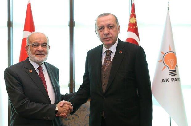 Karamollaoğlu'nun, Erdoğan ile ilgili görsel sonucu