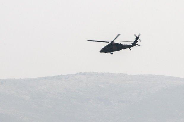 düşen helikopter son dakika
