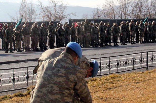 Afrin şehidi 9 asker aynı birlikten uğurlanmış!