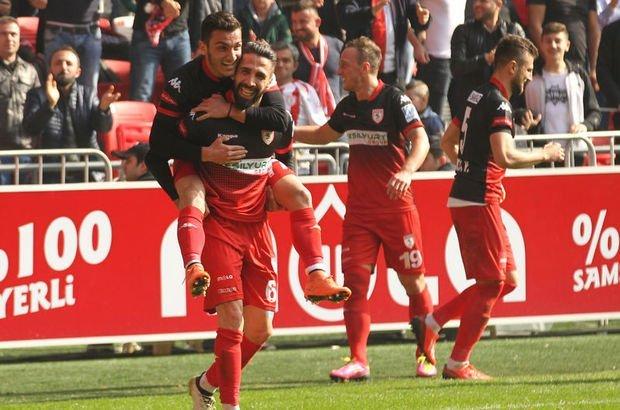 Samsunspor: 1 - Büyükşehir Belediye Erzurumspor: 0