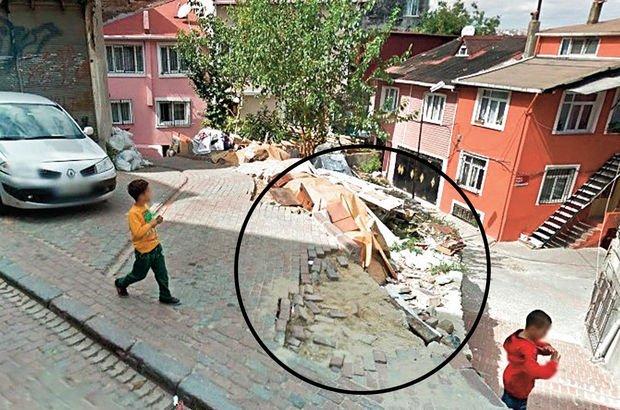 Çukur Mescit Sokağı İstanbul  İBB mescit