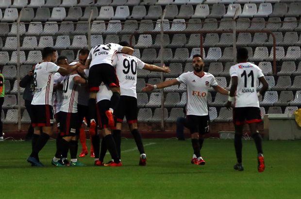 Gazişehir Gaziantep'ten gol yağmuru!
