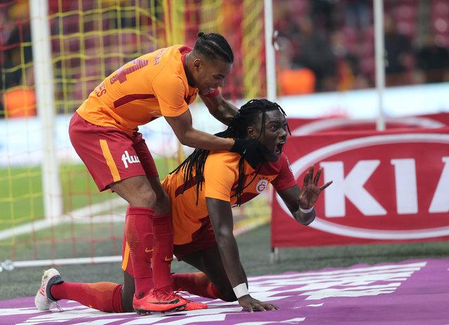 Galatasaray'da Garry Rodrigues uçarak asist yaptı!