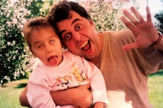 Hamdi Alkan'ın kızı Zeynep Alkan çocukluk fotoğrafını paylaştı - Magazin haberleri
