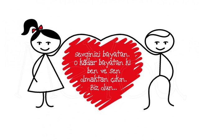 14 Şubat resimli Sevgililer Günü mesajı - Sevginizi bu mesajlarla anlatın!
