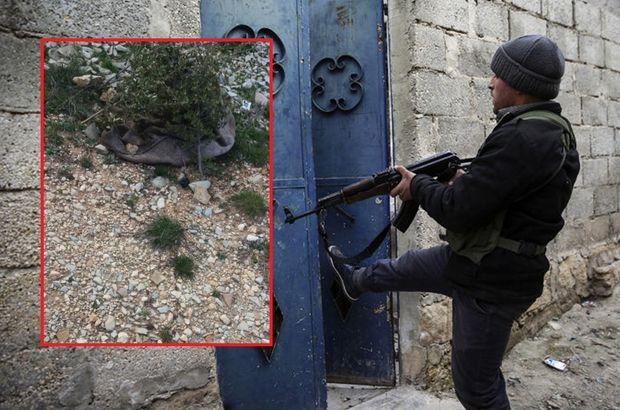 Terör örgütü PYD/PKK, zeytin depolarından cesetlere kadar her yeri mayınladı