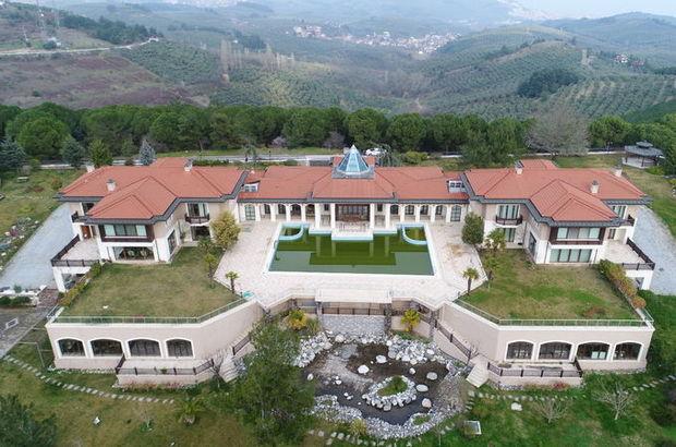 FETÖ ele başı Gülen'in  Bursa'daki malikanesine el konuldu