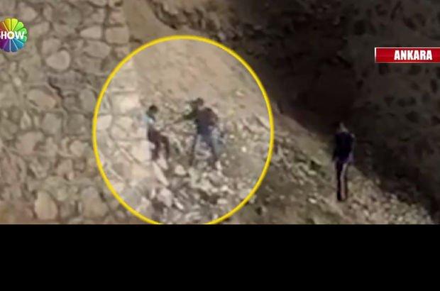 Ankara'da skandal görüntü! 12-13 yaşlarında 3 çocuk...