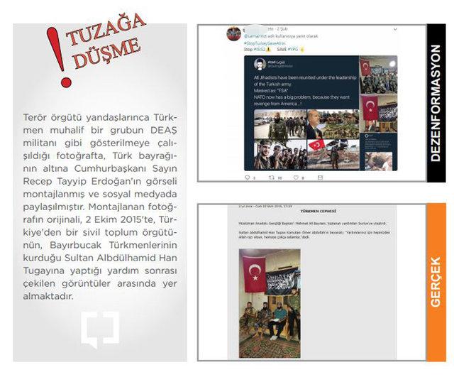 İşte Afrin yalanları ve gerçekler