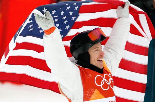Shaun White altın madalya