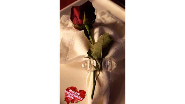 Ali Ağaoğlu ile sevgilisi Duygu Su Gülpınar'ın romantik Sevgililer Günü kutlaması - Magazin haberleri