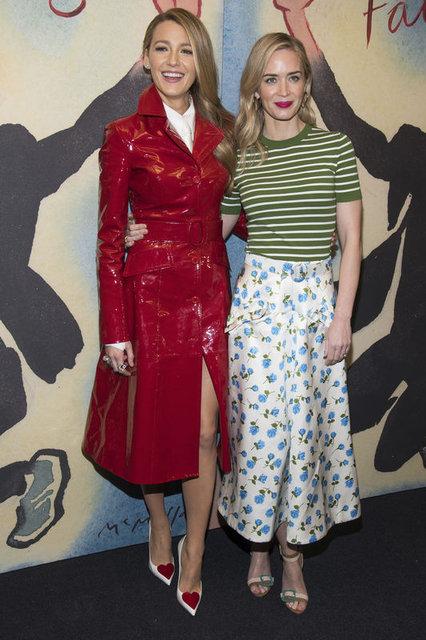 Blake Lively'nin New York Moda Haftası stili