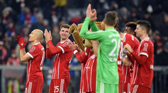 Bayern Münih'in Beşiktaş maçı 11'i belli oldu