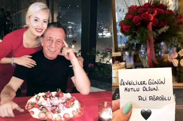Ağaoğlu'ndan romantik Sevgililer Günü kutlaması