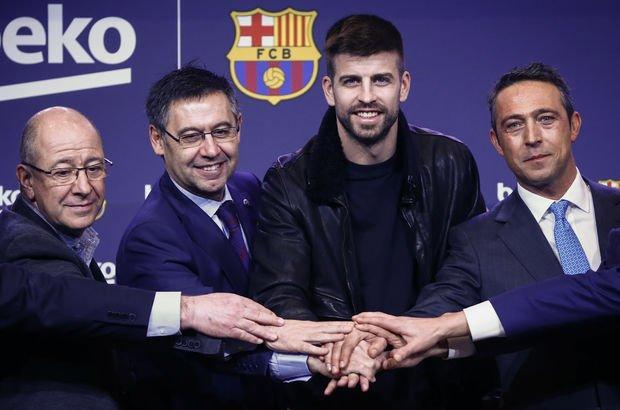 Ali Koç Camp Nou Beko Barcelona