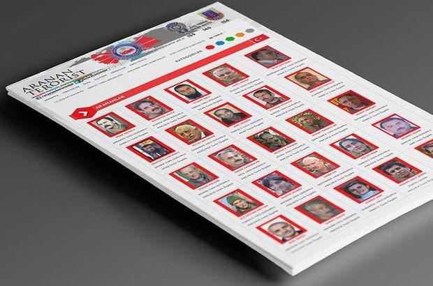 İçişleri Bakanlığı 'Terör arananlar listesi' güncellendi