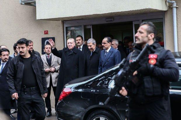 Cumhurbaşkanı Erdoğan'dan Kadir Mısıroğlu'na hastanede ziyaret