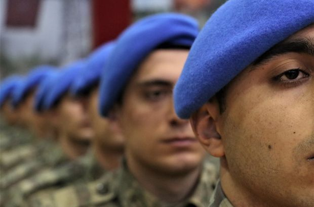 Asteğmenler 'Mavi Bere' taktı!