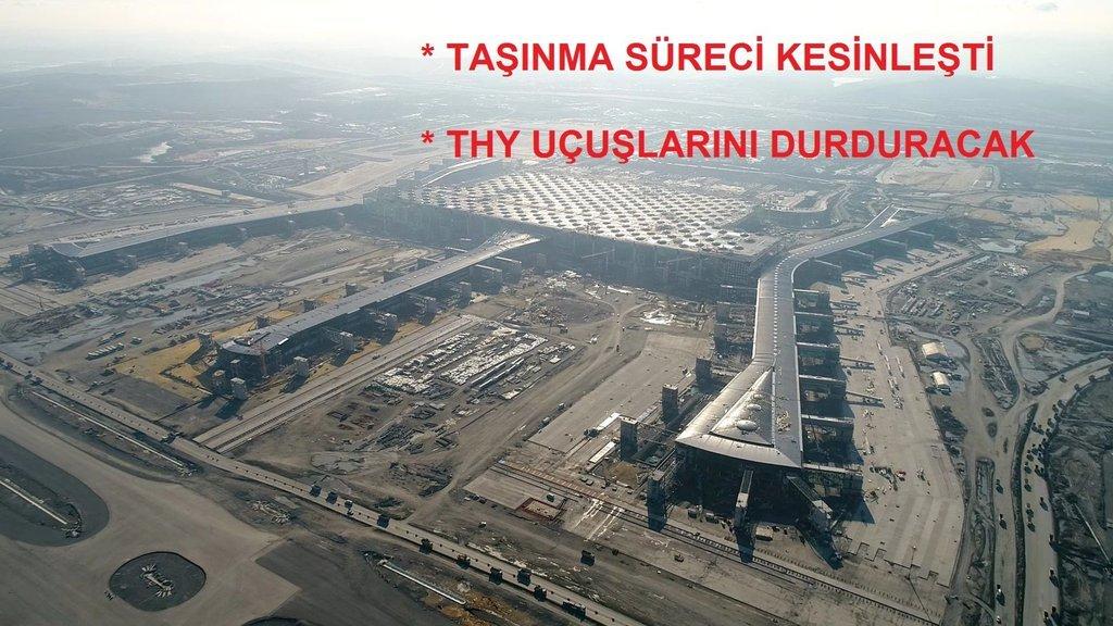 İstanbul Yeni Havalimanı bu ay Cumhurbaşkanı Erdoğan için hazır