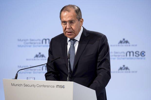 Lavrov: Avrupa, ABD'nin yaptırımlarının hesabını ödüyor