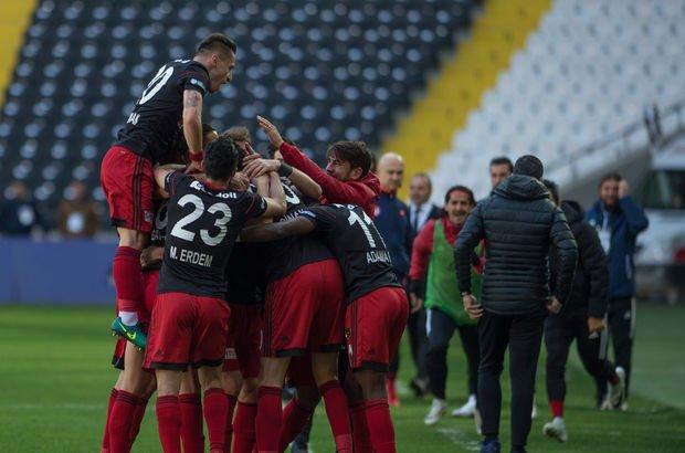 İstanbulspor: 2 - Gazişehir Gaziantep: 2 MAÇ SONUCU 90