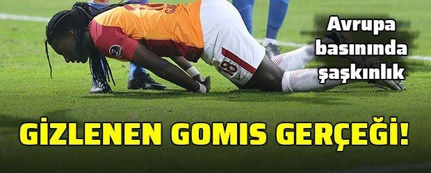 Galatasaray'da gizlenen Gomis gerçeği