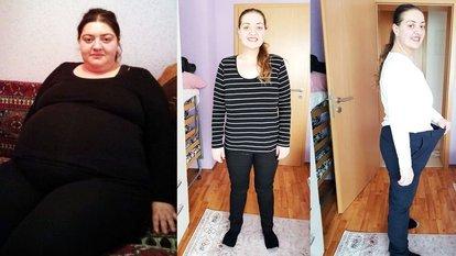 Hatice Koçak kızı için 6 ayda 55 kilo verdi