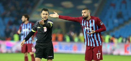 Burak Yılmaz'dan Trabzonspor Başakşehir maçında örnek hareket