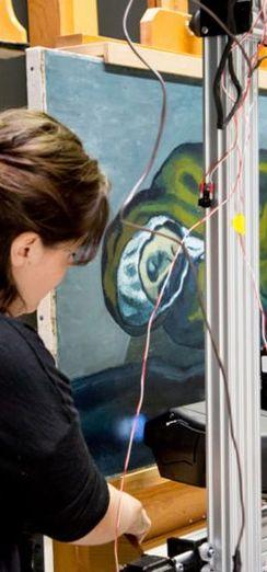 Pablo Picasso'dan tablo içinde tablo