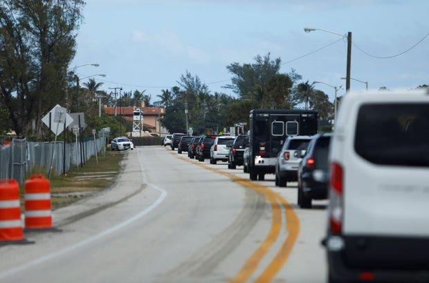 Trump'ın konvoyundaki gazetecilerin sürücüsü silahla yakalandı