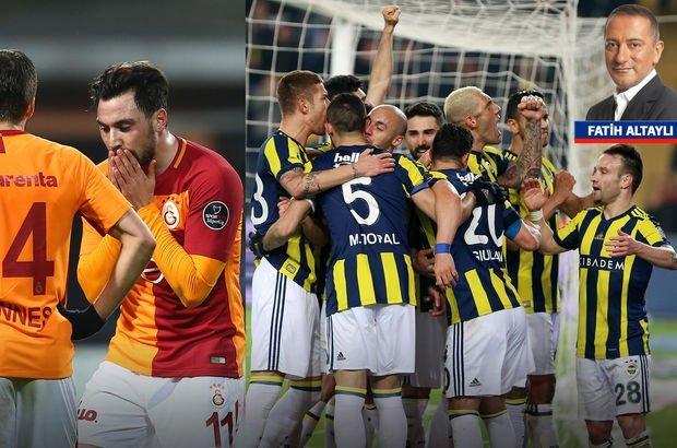"""""""Galatasaray dağıttı, Fenerbahçe topladı"""""""