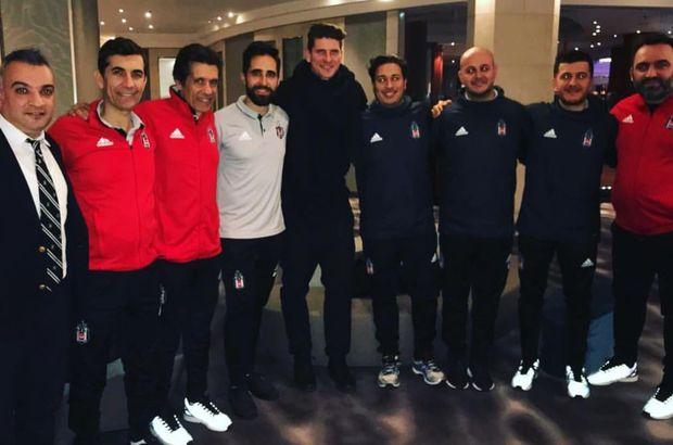 Mario Gomez'den Beşiktaş'a ziyaret