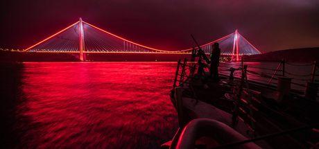 ABD Donanması'ndan İstanbul paylaşımı