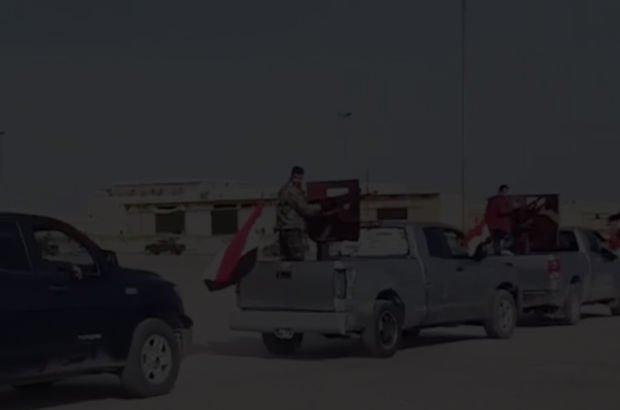Son dakika! Esad rejimine bağlı güçler Afrin'e girdi! Türk jetleri bombaladı İlk görüntüler