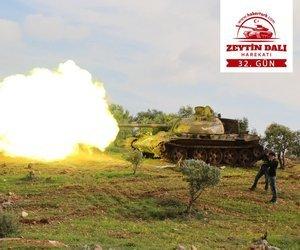 Afrin'de kritik gelişme! Kilis hattı temizlendi
