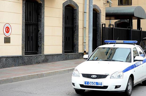 """Türkiye'nin Moskova Büyükelçiliği'ne """"beyaz toz"""" bulunan zarf gönderildi"""